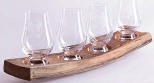Serveringsfat for Glencairn glass