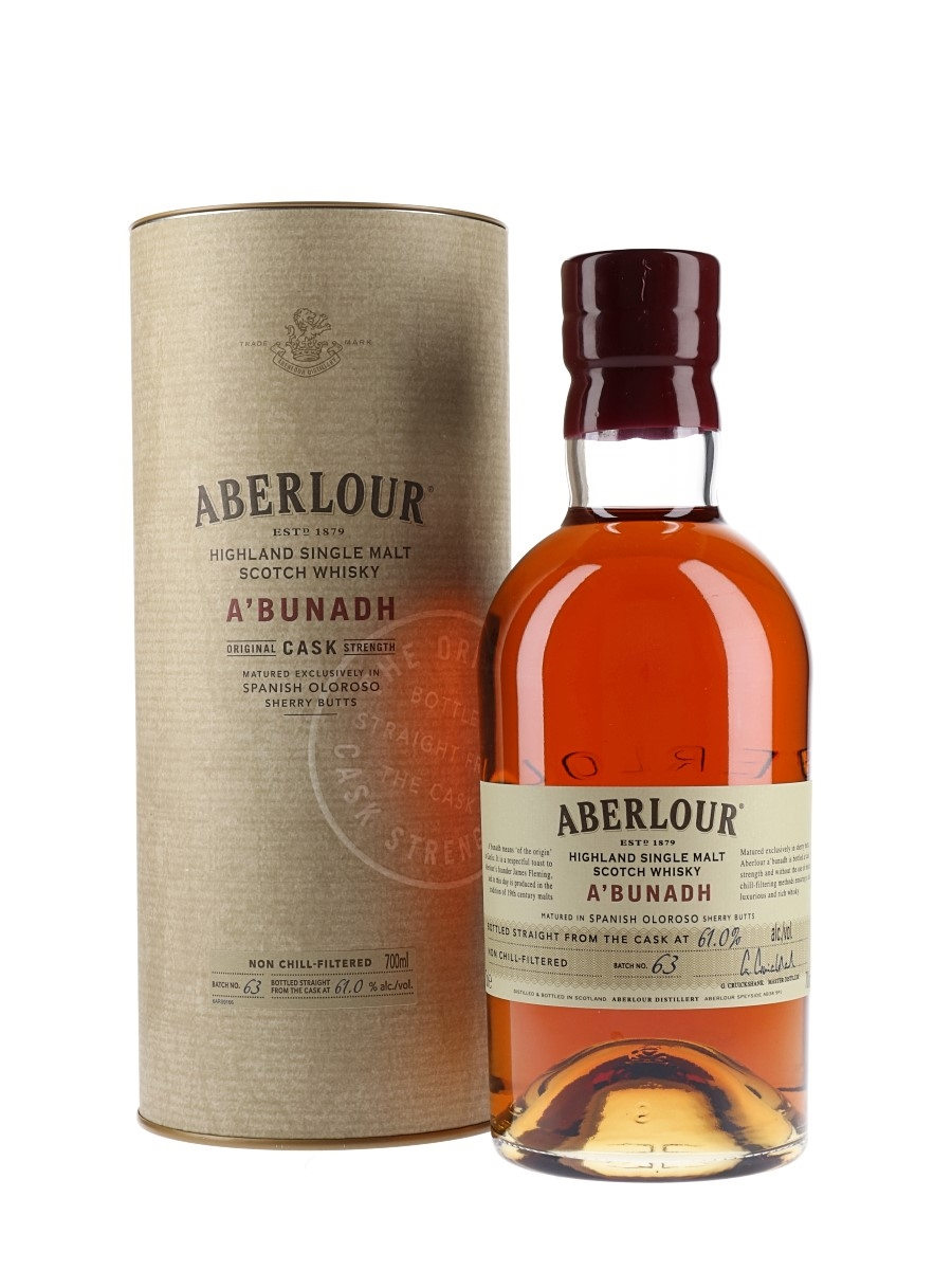 Aberlur A'Bunadh #63 Single Malt. Anmeldt av Whiskyworld.no